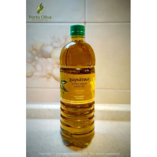 Масло оливковое домашнее Arginio Horiatiko EV, 1л