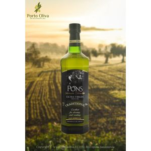 Масло оливковое Pons Traditional EV, 500мл