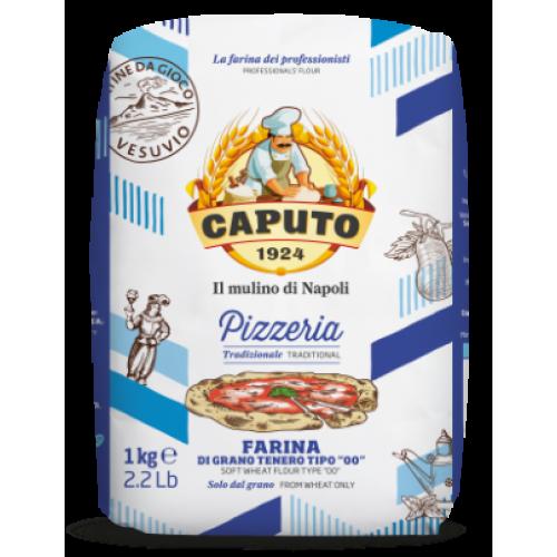 Мука для пиццы из мягких сортов пшеницы Caputo тип 00, 1кг