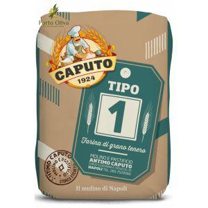 Мука для серого хлеба из мягких сортов пшеницы Caputo Tipo 1, 5кг