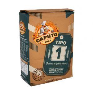 Мука для серого хлеба из мягких сортов пшеницы Caputo тип 1, 1кг