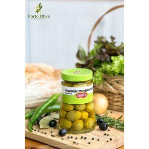 Оливки зелёные гигантские D'Amico, 470г