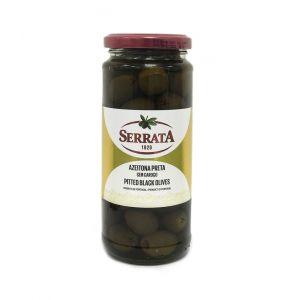 Оливки чёрные без косточки Serrata, 330г