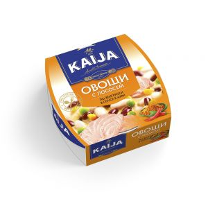 Овощи с лососем по-венгерски Kaija 220г