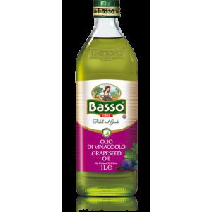 Масло виноградной косточки Basso рафинированное, 1л