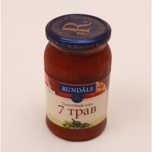 Соус томатный 7 трав Rundale, 420г